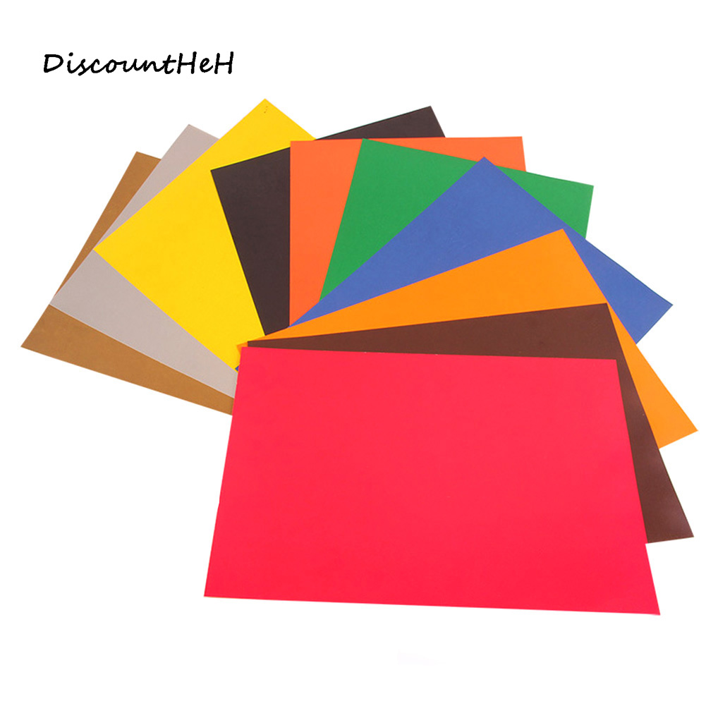10pcs/set A4 Colorful Stickers Hand Labels Printing Cardboard Embossing Special Paper School Escolar Papelaria