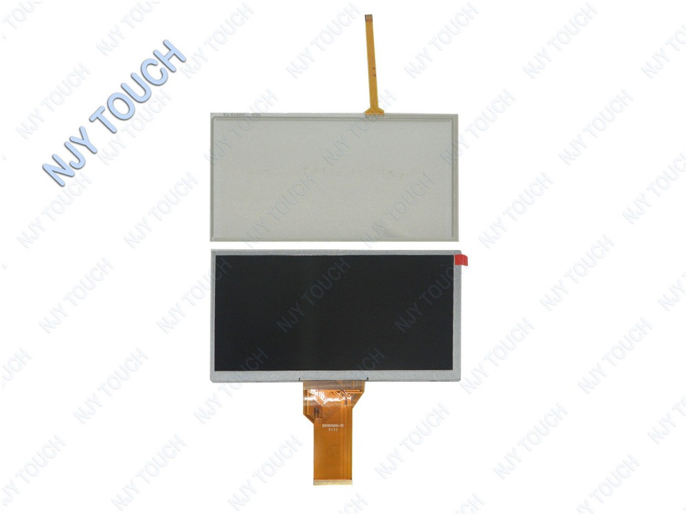 New 7 TFT AT070TN92 Touch Panel Plus HDMI VGA AV Remote LCD Controller Board kit For Raspberry PI