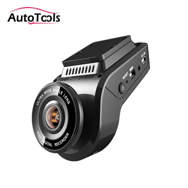 WIFI Voiture caméra DVR avec 4 K 2160 P Dash cam avec 1080 P caméra arrière Novatek 96663 DVR collecteur gps