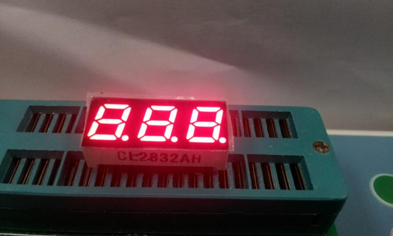 0.28 inch three DIGIT red LED digital tube of high -quality 7 segment display LED module ...