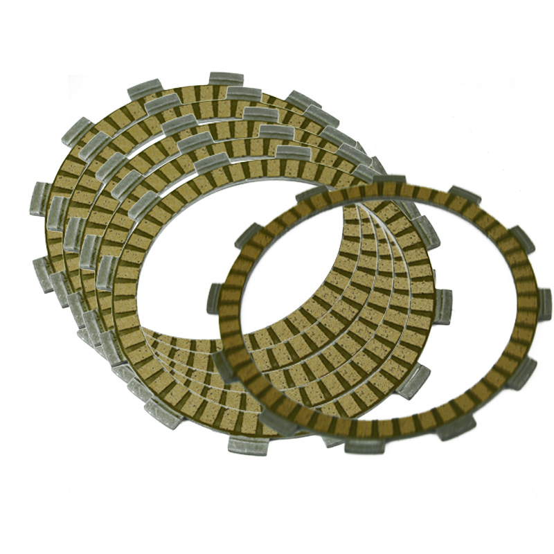 Motorcycle Clutch Friction Plates Kit For SUZUKI GSR250S 2014 GSR250X 2014 2015 Inazuma GW250 2013 2014 DR250S 1986 SP600 1985