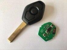 QCONTROL Chave Remota Do Carro DIY CAS para BMW X3 X5 Z3 Z4 Z8 3/5/6/7 série Entrada Keyless Transmissor