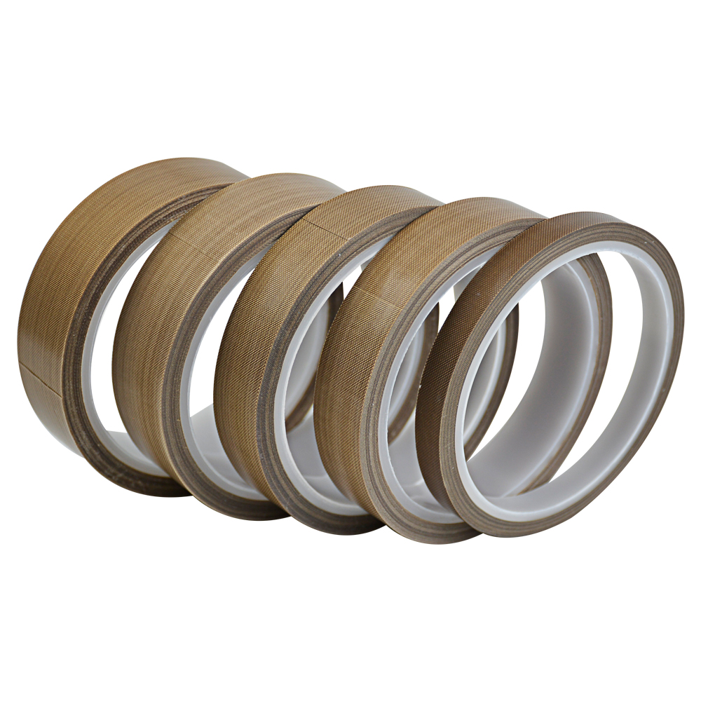 1 unid de teflón PTFE cinta adhesiva de 0,18mm * 10 M * 10mm-25mm