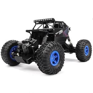 Image 1 - Rc カー 2.4 グラム 4CH ロッククローリング駆動車ドライブビッグフット車リモートコントロールカーモデルオフロード車のおもちゃ wltoys ドリフト