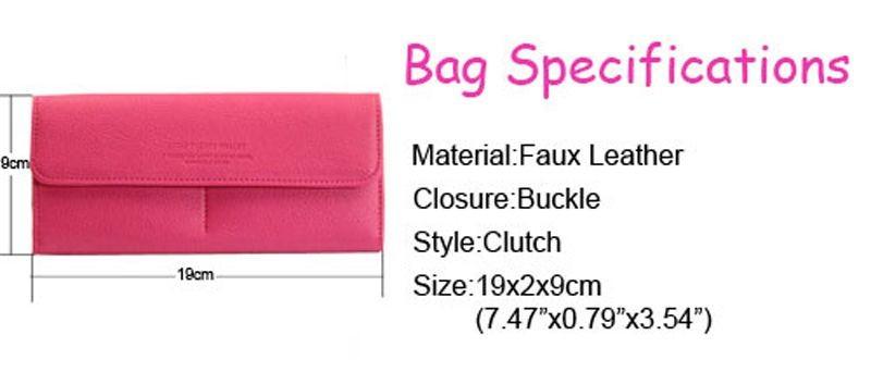 B489 women leather wallet purse (21)