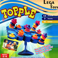 Balancing Stand Tic-Tac-Toe Topple Board  Game funny novelty toy, 2-4 Players Don't Let Topple Topple As You Try To Score Points