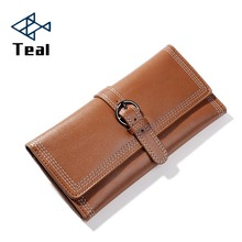цены на Long Wallet Clutch Belt Women Purse Simple Fashion Coin ID Card Holder Male Phone Bag Female Leather Purse portefeuille femme  в интернет-магазинах