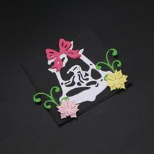 AZSG Christmas hat Cutting Dies For DIY Scrapbooking Decorative Card making Craft Fun Decoration 6.2*7.1cm