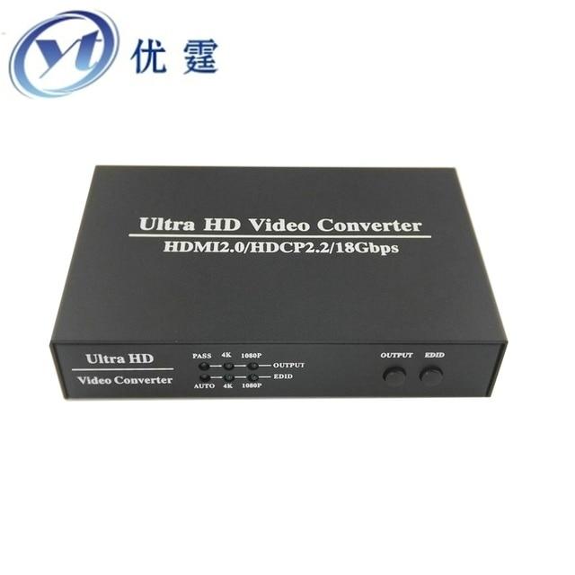 f523874651ced Ultra HD Video Scaler HDMI to HDMI Digital Scalar Support HDMI2.0 ...