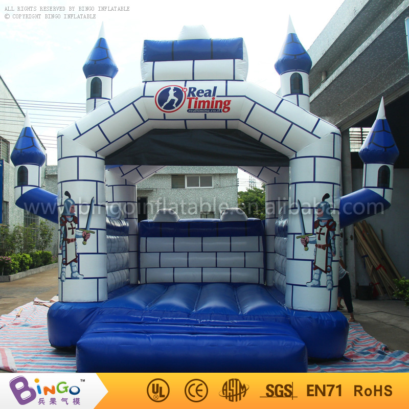 Hot sale Free Shipping outdoor games 4X4m Pvc inflatable bouncy castles for children with free kits ao058m 2m hot selling inflatable advertising helium balloon ball pvc helium balioon inflatable sphere sky balloon for sale