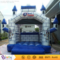 Hot sale Free Shipping outdoor games 4X4m Pvc inflatable bouncy castles for children with free kits