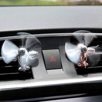 Auto Lufterfrischer Legierung Flugzeug Autos Vent Clip Parfüm Duft Duft Geruch Diffusor Auto Innen Decor Zubehör|Ornamente|   -