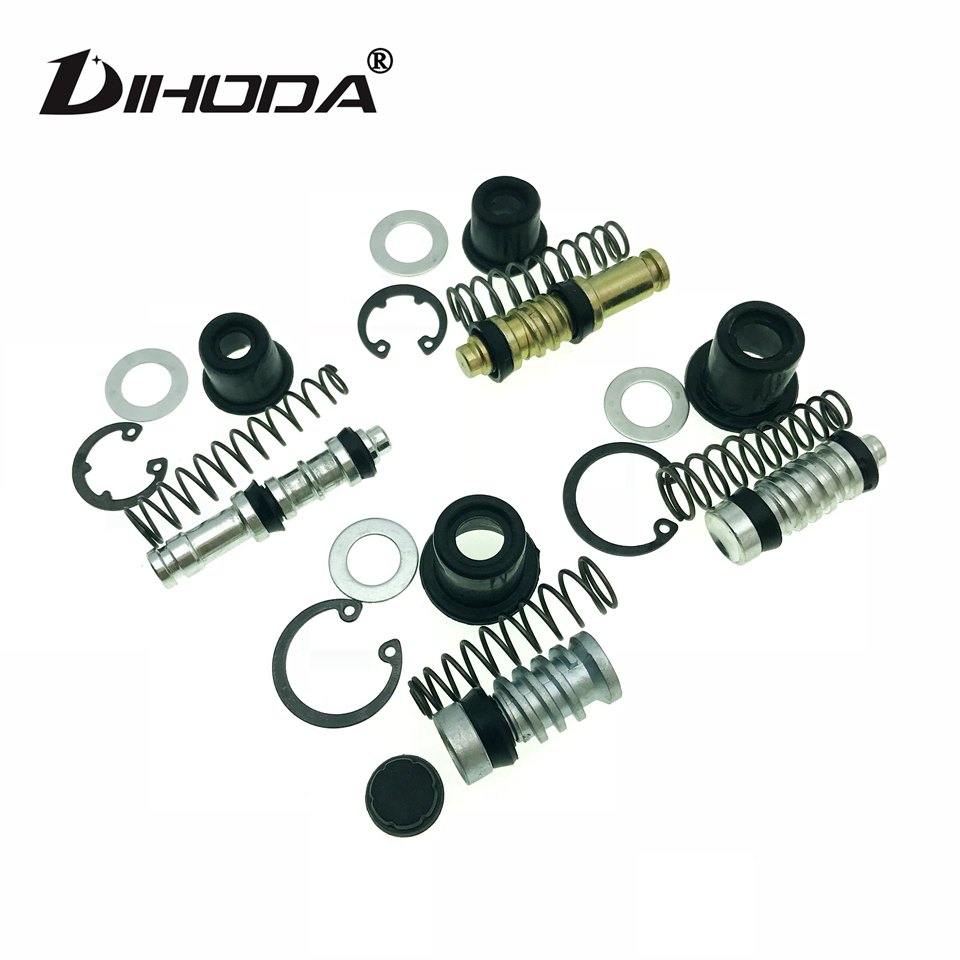 Motorcycle Clutch Brake Pump 12.7mm 11mm 14mm 16mm Piston Plunger Repair Kits Set Master Cylinder Piston Rigs Repair Accessories(China)