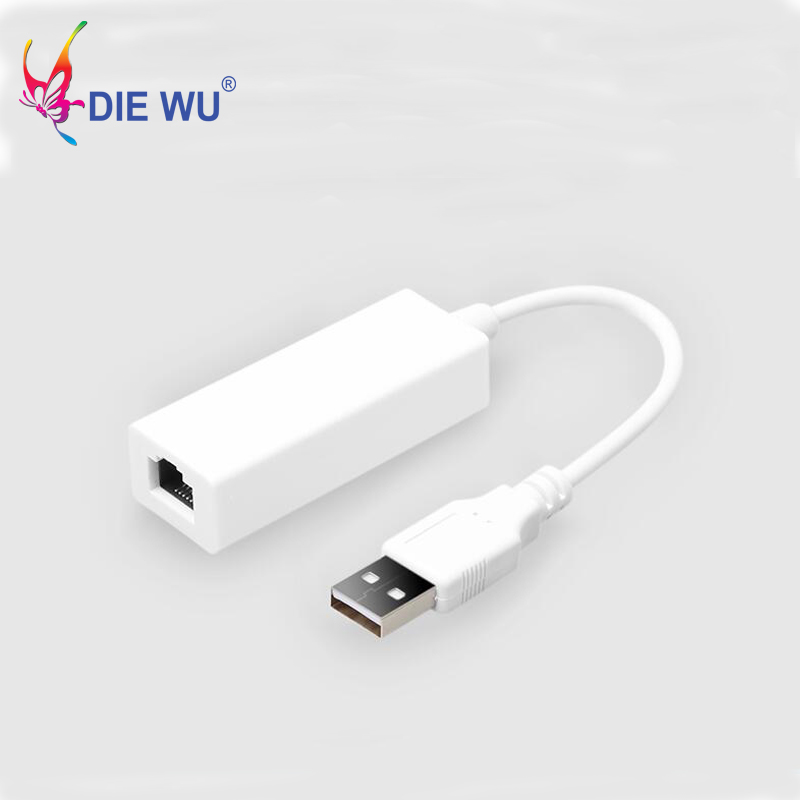 USB to RJ45 LAN Card Ethernet Adapter Realtek 8152 Chipset USB2.0 to 10//100Mbps Network Adapter for Windows 10//8//7//XP