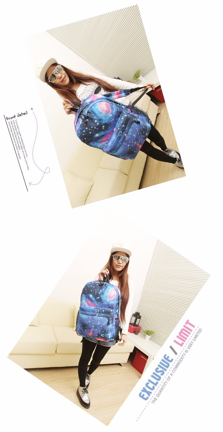 1dae5cb7e3 2016 lightweight exo bag fans satchel school bags idol support sky backpack  for girls kpop college teenage travel mochilas 202t-in Backpacks from ...