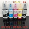 C13T00Q140 C13T00R140 C13T00R340 C13T00R440 T 105 106 T105 CISS kit de recharge d'encre à colorant pigmenté pour Epson EcoTank ET-7700 ET-7750