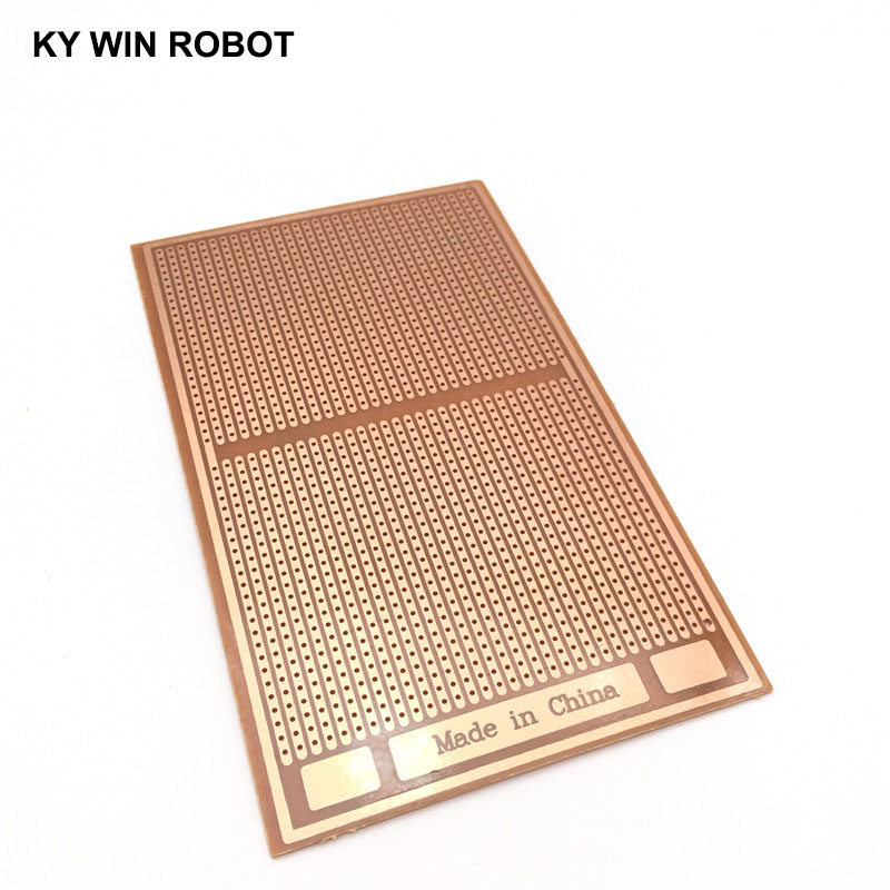 Tablero de circuito de matriz de prueba Universal PCB de papel prototipo de 9x15 cm DIY de 1 piezas de medio a mitad 9x15CM Hontiey UV púrpura LED de alta potencia Chip 360Nm 375Nm 385Nm 395Nm 405Nm UVA UVB cuentas de iluminación 3 5 10 20 30 50 100 vatios matriz 3D