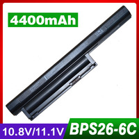 5200mAh Laptop Battery For SONY VGP BPS26 PCG 61712T VAIO VPC EJM1E SVE VPC CA VPC