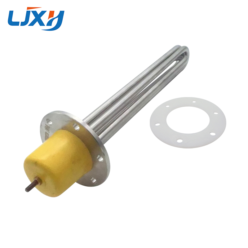 LJXH Tubular Heater Heating Element for Oil 220V/380V 304 Stainless Steel Heating Tube Dia.12mm for Heat-Conducting Oil Stove ljxh cartridge heater element 220v single head heating pipe dia 12mm with type k thermocouple 304 stainless steel 200w 300w 400w