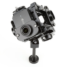 PGY-6S 360 degree VR Panoramic bracket Rig Accessories support for Xiaomi YI 4K mounts 6 action camera black