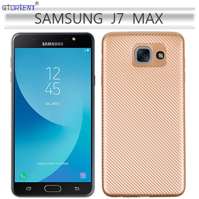 huge selection of 8df50 69cb4 For Samsung Galaxy J7 MAX G615 Carbon Fiber Soft Silicone Bumper Case On  MAX Capa SM G615F G615F/DS G615H G615S G615M Full Cover-in Fitted Cases  from ...