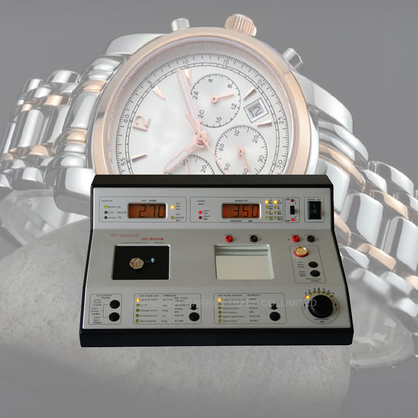 1PC QT-8000B Quartz watches tester Timegrapher Timing machine quartz watch slow and fast tester Watch Clock Repair Tool