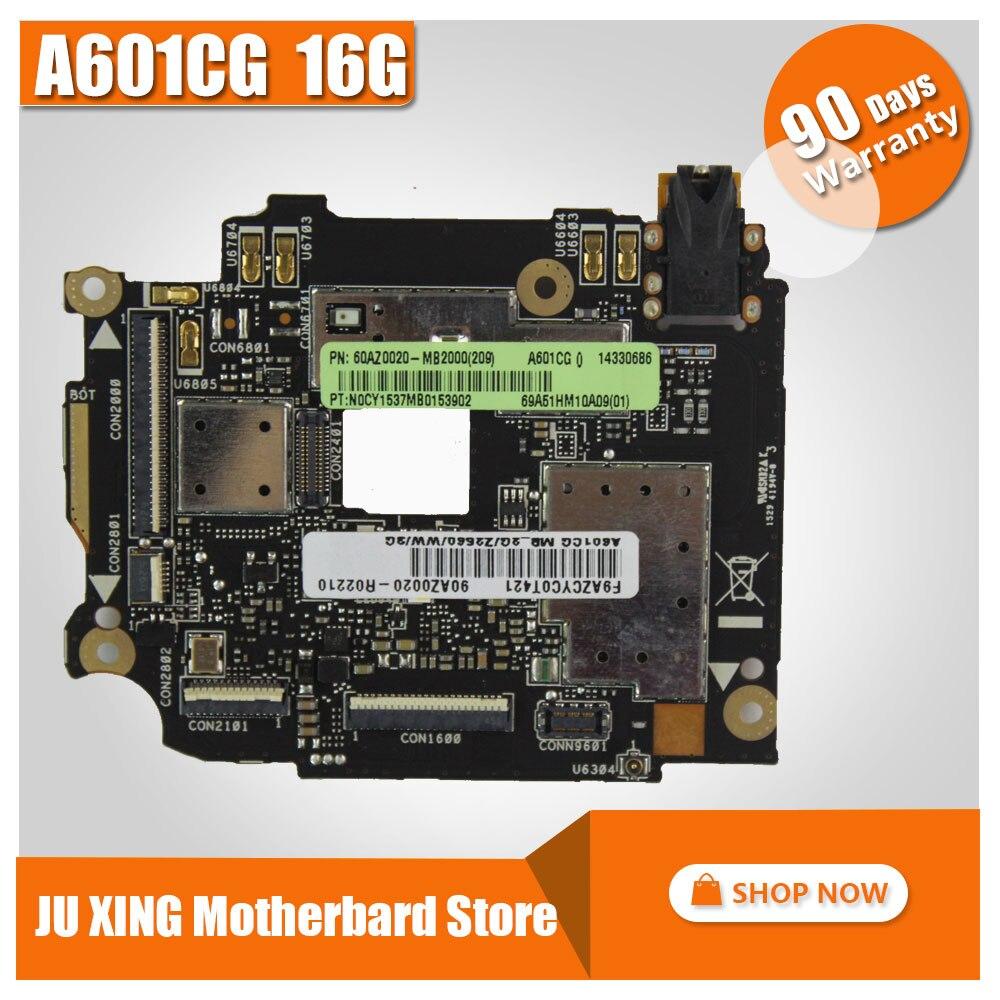 Бесплатная доставка! Для Asus Zenfone 6 A601CG A600CG материнская плата 16 г доска Оригинал материнская плата
