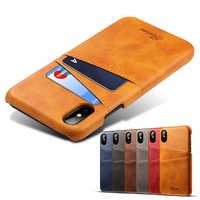 Für iPhone XS MAX XR X iPhone 7 8 Plus 6 6S Plus Brieftasche Abdeckung Für Samsung Note 8 9 10 S9 S8 A8 A6 Plus S7 A9 A7 A5 Leder Fällen