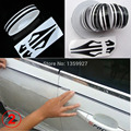 12*9800mm Pin Stripe Lines Tape Car Stickers Decals decoration strip black/gold/blue/grey/white/red/silver/yellow/