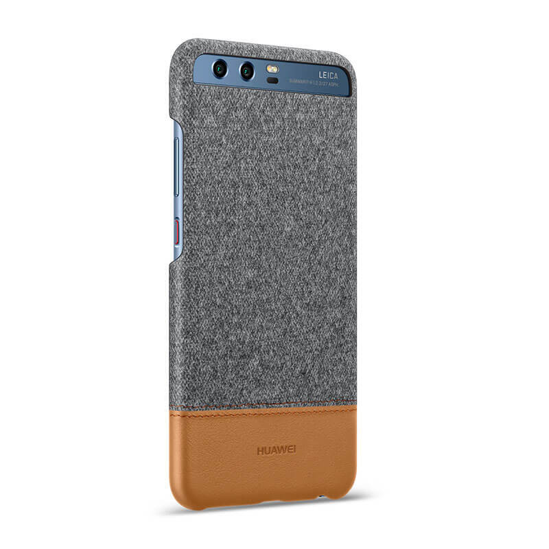 Huawei P10 Case P10 Plus Case Back Cover Mix Fiber And Leather Shell Hard Case For Huawei P10 P10 Plus Case
