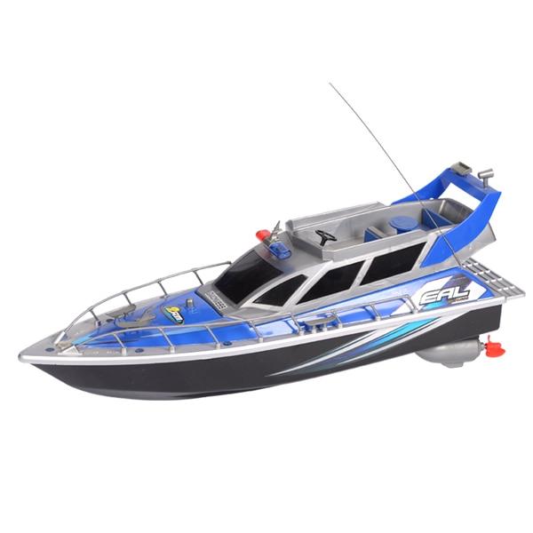 Simulation à grande échelle de jouets de bateau télécommandés électriques navires de guerre bateaux de patrouille hors-bord à piles électronique