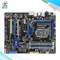 Para asus p7p55 ws supercomputadora original usado madre de escritorio de intel P55 LGA 1156 Para i3 i5 i7 DDR3 16G SATA2 USB2.0 ATX