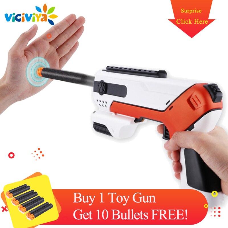 Fun Kid Soft Bullet Gun Toy Bursts for Nerf Gun Toy Shooting Submachine Weapon Pistol Sniper Rifle Birthday Gift free 10 bullets