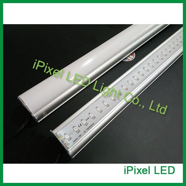 ФОТО WS2812b addressable rgb full color aluminum led tube light waterproof DC5V