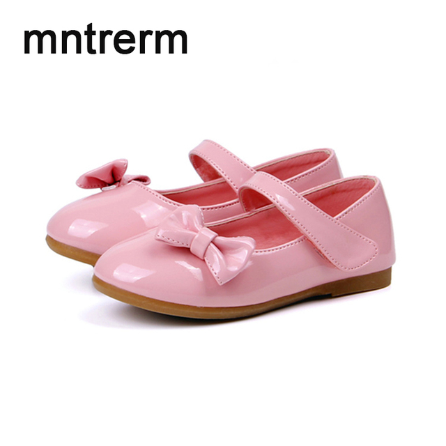 2017 the new hot sale shoes kids student bow small mirror pu flower 2017 the new hot sale shoes kids student bow small mirror pu flower girls shoes children mightylinksfo Choice Image