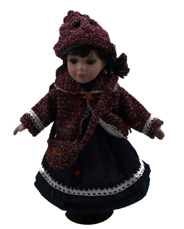 30 cm fille russe champ rural Village porcelaine loisirs fille poupée européenne en céramique poupée style maison décoration cadeaux de noël