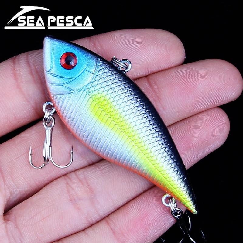 SEAPESCA VIB Horgászcsörgés Wobbler Crankbaits 10.8g 6.5cm - Halászat