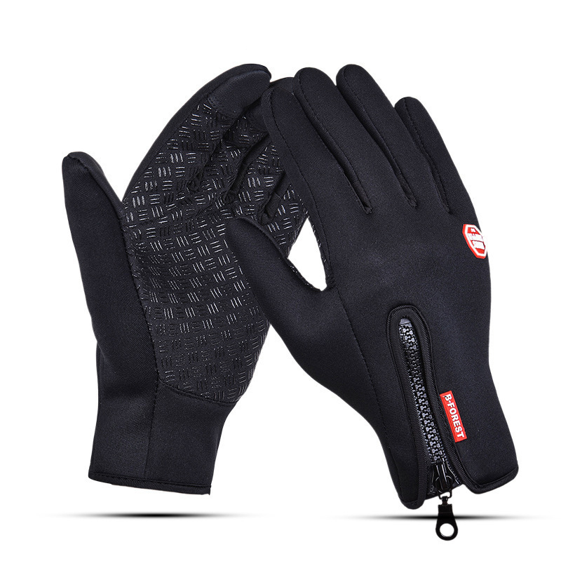 Tocuh Screen Gloves Outdoor Sports Windstopper Gloves Windproof Bicycle Cycling Hiking Military Motorcycle Riding Full Finger qepae f7506 comfortable professional motorcycle bicycle full finger gloves red black pair xl