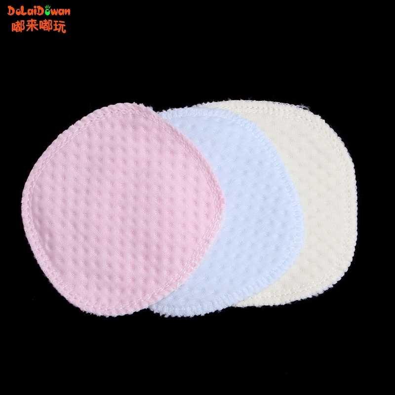 Materna reutilizables almohadilla de pecho almohadillas lavable suave y absorbente bebé lactancia materna