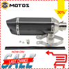 ZS MOTOS Universal GY6 Motorcycle Scooter Modified Muffler Exhaust Pipe CBR 125 250 CB400 CB600 YZF