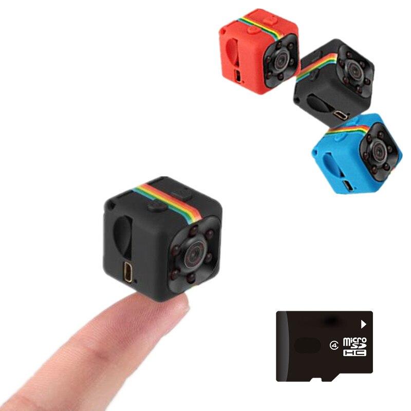 SQ11 HD 1080 p Car Home Sensor CMOS de Visão Noturna Câmeras Micro mini Camera DVR DV cam Filmadora Gravador De Movimento camcorder SQ 11