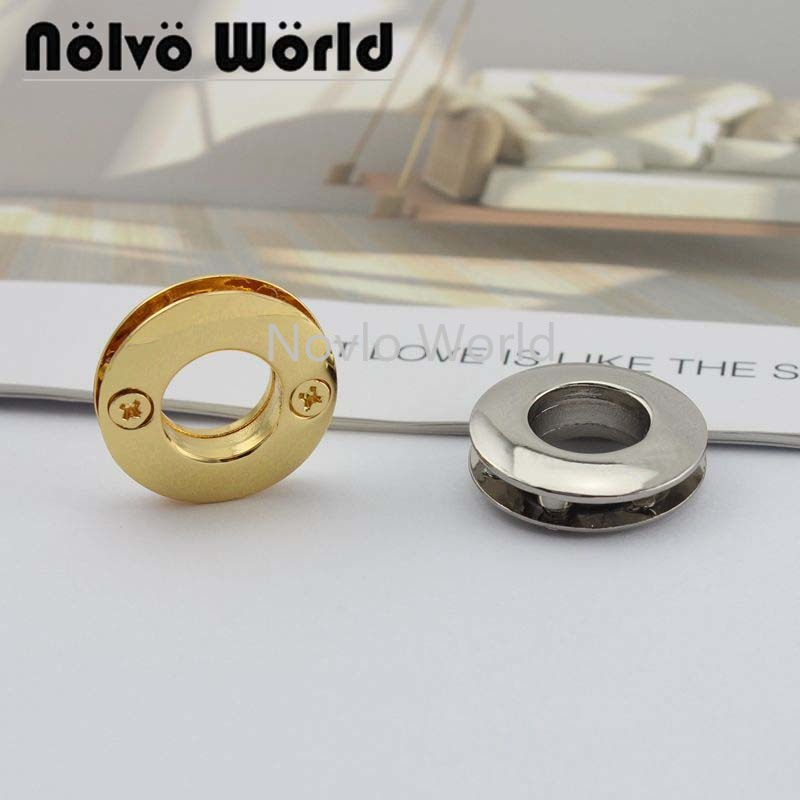 Wholesale 500pcs, 4 Colors Accept Mix Color, 26.5 Mm, Metal Eyelets With Grommet For Leather Craft Bag Clothes Tag Diy Accessory