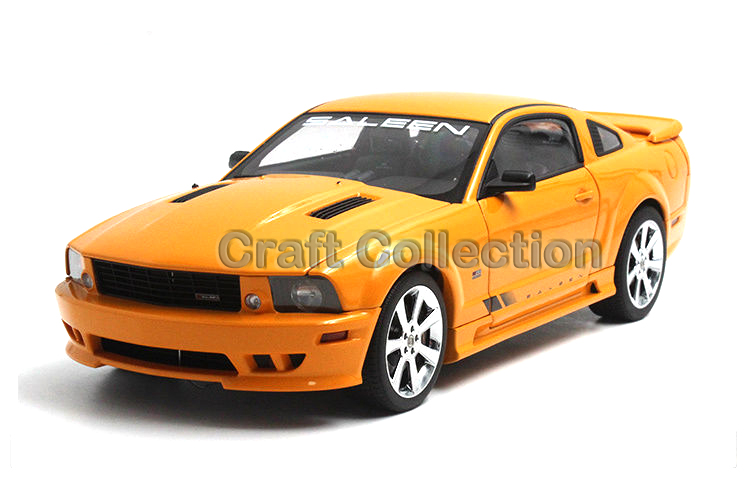 * Orange Autoart 1/18 FORD SALEEN MUSTANG S281 E 2007 Classic Muscle Die-Cast Model Car Modell Auto