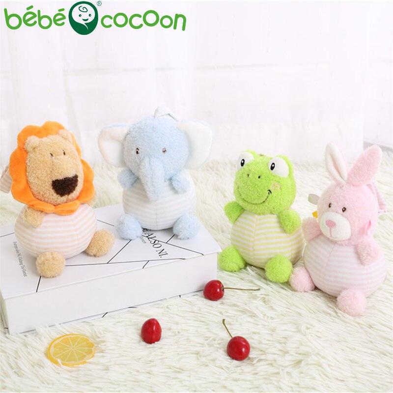 Bebecocoon 1-3 años Bebé Kawaii 20 cm Sonajero campana de mano - Peluches y felpa