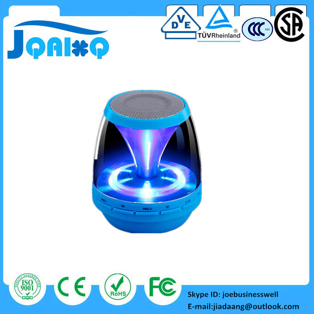 Special Price LED Light Bluetooth Speaker Amplifier Powered Subwoofer Support TF Card FM MIC Mini Wireless Car Handsfree Calls for Iphone 7