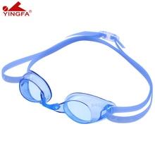 Yingfa HD противотуманные очки для плавания, профессиональные гоночные водонепроницаемые очки для плавания для мужчин и женщин, очки для плавания