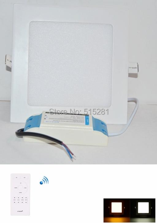 Free fedex 10pcs lot 2 4G dimmable ultrathin led downlight led ceiling light 85 265v 12w