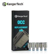 100% Original Kangertech Subtank Ni-200 Organic Cotton Atomizer Coil 0.15ohm Range 20~45W OCC Heads for Kanger Subtank 5pcs/lot