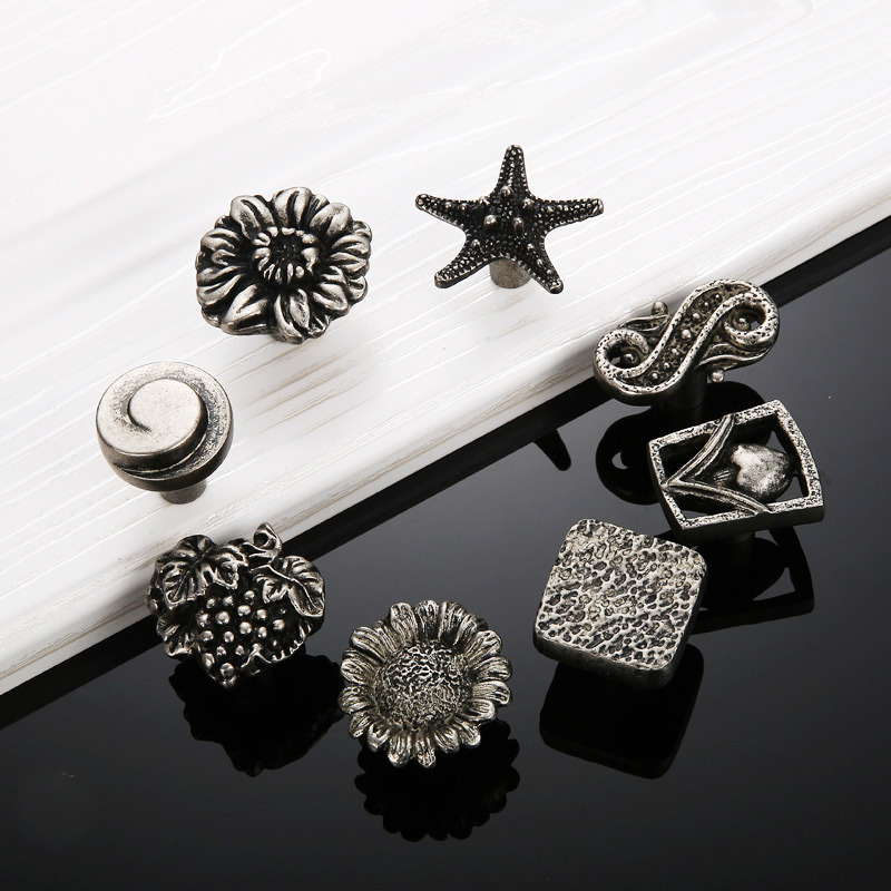 Antique Silver Single Handles Wardrobe Cabinets Drawers Do Old Pull Hardware Shoe Bucket Cabinet Window Handle and Knobs furniture drawer handles wardrobe door handle and knobs cabinet kitchen hardware pull gold silver long hole spacing c c 96 224mm