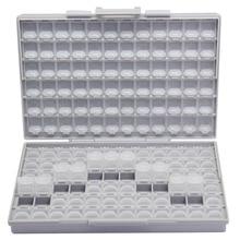 AideTek SMD storage SMT resistor capacitor Electronics Storage Cases & Organizers transparent toolbox storage box plastic BOXALL